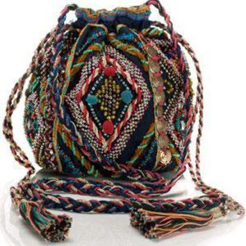 Monsoon Accessorize  - Multi Braided Pouch Bag