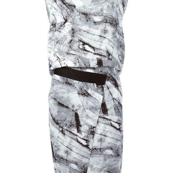 DCCKIN3 Helmut Lang 'Contrast' dress