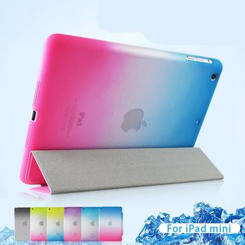 For iPad Air 2 Case MiNi 2 3 Luxury PU Leather Front Flip Cover For iPad 4 Air 1 Smart Tablet Case Magnetic Auto Wake Up / Sleep