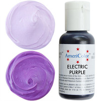 Neon Purple Gel Paste Food Coloring