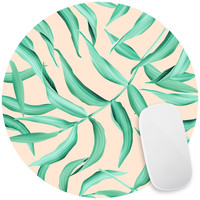 Leaf of the Palm Mouse Pad Decal