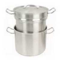 Double Boiler with Cover 8 qt
