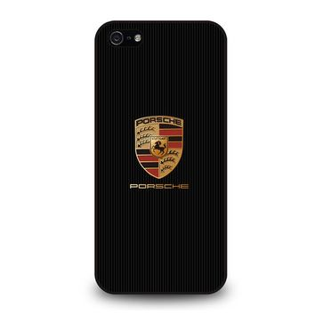 PORSCHE LOGO iPhone 5 / 5S / SE Case Cover