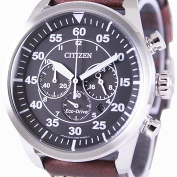 Citizen Eco-Drive Aviator Chronograph CA4210-16E Men's Watch