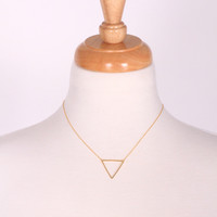 The Perfect Point Necklace