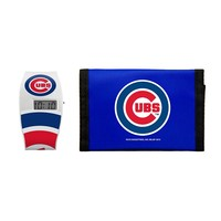 Chicago Cubs Lil' Sport Watch & Trifold Wallet Gift Set - Kids (Cub Team)
