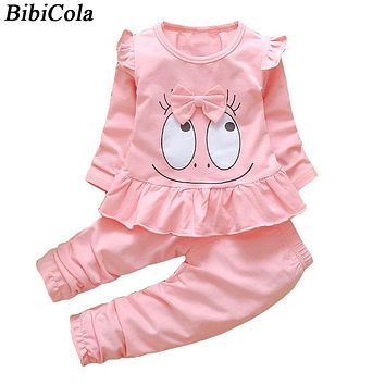 Baby Girls Clothing Set Spring Autumn Kids Tracksuit Set for Girls Children Casual Suits Girls Outfit Costume Clothes