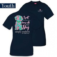 """Youth Simply Southern """"Dog"""" Tee"""