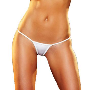 Hot Sexy G String Perspective Women Underwear See Through Thong Ladies Tanga Culotte Femme
