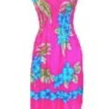 Womens Hawaiian Beach Dress