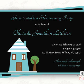 Housewarming Party Invitation (Printable) - Housewarming Invitation - House Warming Party Invitation - House Warming Invitation