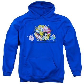 Adventure Time - Glob Ball Adult Pull Over Hoodie
