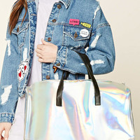 Holographic Travel Bag