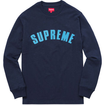 Supreme: Arc Logo L/S Top - Navy