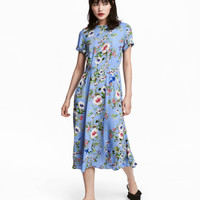 Patterned Dress - from H&M