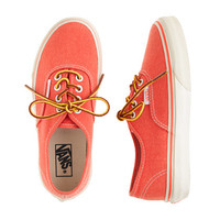 Boys Vans For crewcuts Washed Sneakers