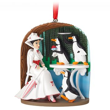 Disney 2018 Mary Poppins Jolly Sketchbook Christmas Ornament New with Tag