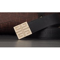 Givenchy Women Men Fashion Smooth Buckle Belt Leather Belt