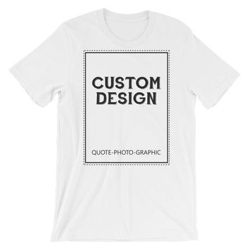Custom T-shirt with photo Picture