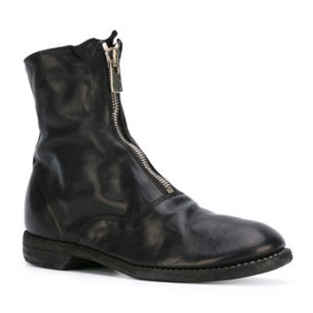 Guidi Front Zip Ankle Boots - Farfetch