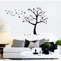 Vinyl Wall Decal Tree Leaves Nature Decor Stickers Mural Unique Gift (ig4418)