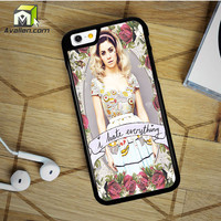 Marina And The Diamond Hate Everything iPhone 6 Plus Case by Avallen