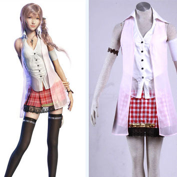 Serah Farron Dress Serah Costume, Final Fantasy Costume