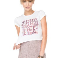 Brandy ♥ Melville |  Carolina Thug Life Top - Graphics