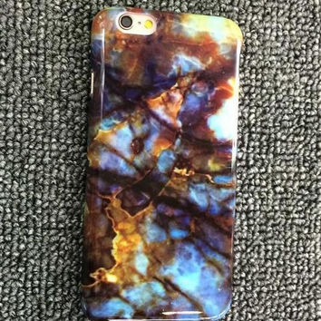 Vintage Marble Pattern iPhone 5se 5s 6 6s Plus Case Cover gift