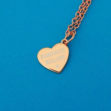 Feminist Killjoy Charm Necklace