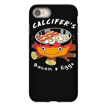 calcifer's bacon and eggs iPhone 8
