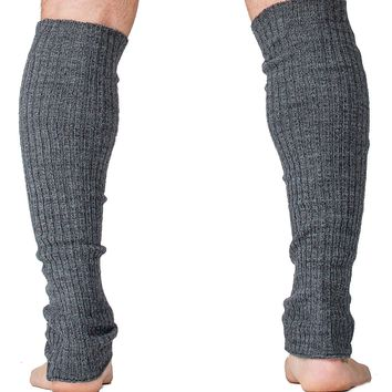 Leg Warmers / Dark Gray / Men's Dancewear