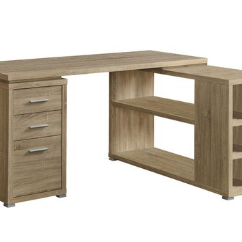 Computer Desk - Natural Left Or Right Facing Corner