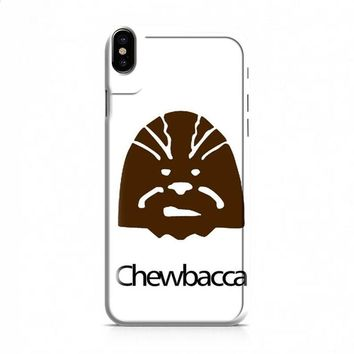 Star Wars Character Chewbacca iPhone X case