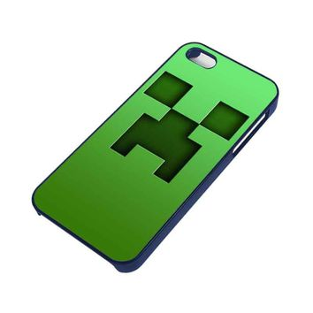 creeper minecraft iphone 5 5s case  number 1
