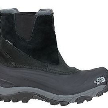 The North Face Mens Chilkat II Pull-On Boots Black/Black Waterproof