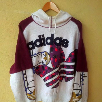Best Adidas Vintage Sweatshirt Products on Wanelo