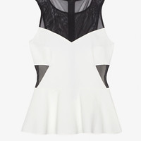 Exclusive for Intermix Mesh Detail Top-Just In-Clothing-Categories- IntermixOnline.com