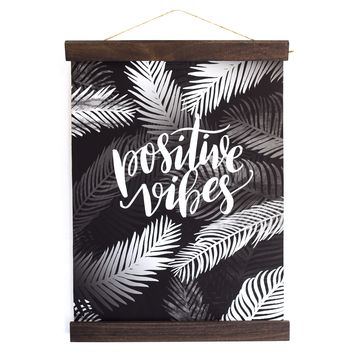 Positive Vibes Wall Hanging
