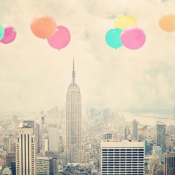 Balloons Over The City Photo Print | BRIKA - A Well-Crafted Life