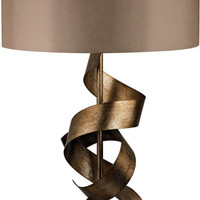 0-029558>Allen 1-Light 3-Way Table Lamp Roxford Gold