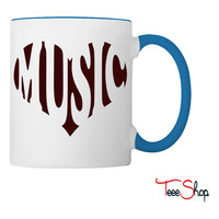 Love music Coffee & Tea Mug