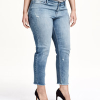 H&M H&M+ Girlfriend Ankle Jeans $49.99