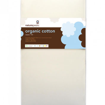 Naturepedic Crib Mattress - Organic Cotton Classic 150