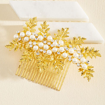 Hoot and Holly Hair Comb | Mod Retro Vintage Hair Accessories | ModCloth.com