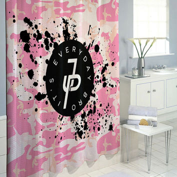 Jake Paul Logo it's everyday Bro Splash Custom Shower Curtain 60 x 72 66 x 72