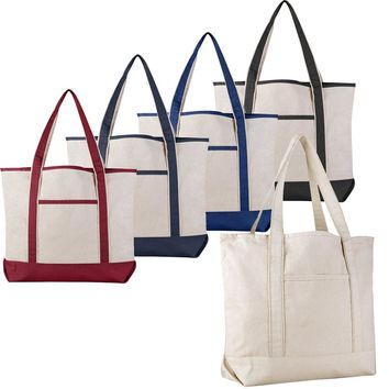 Extra Large Heavy Canvas Boat Tote Bags | TF215