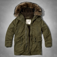 PINE POINT TRAIL SHERPA LINED PARKA