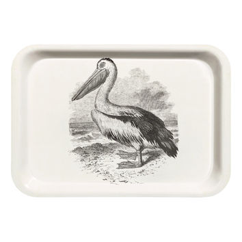 H&M - Tray - White/Bird