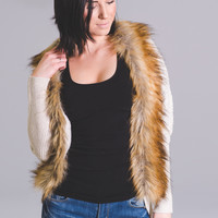 Highly Sophisticated Knit Fur Cardigan